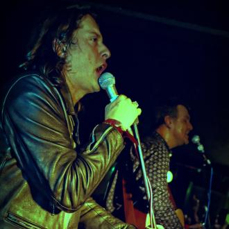 Carl Barat At New Year's Eve Party
