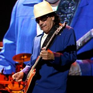 Carlos Santana Didn't Mind Wedding Rain