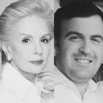 Carolina Herrera comments on nephew's death