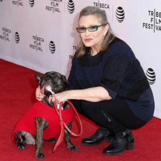 Carrie Fisher's dog has Star Wars cameo