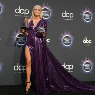 Carrie Underwood cried over wins