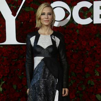 Cate Blanchett Is 'Relishing' Wearing Winter Footwear
