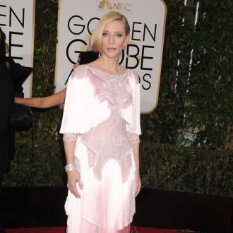Cate Blanchett's burger gorging