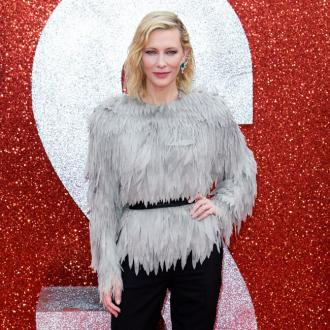 Cate Blanchett has Thor's hammer at home