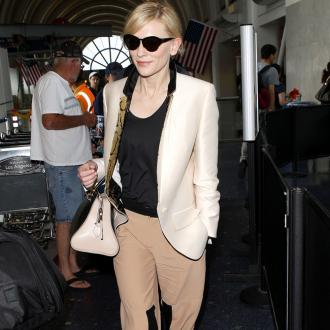 Cate Blanchett Loves Men's Fashion