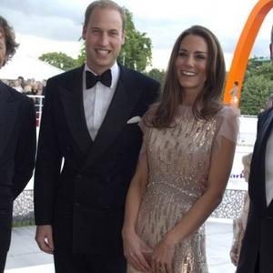 William And Catherine Dazzle Together