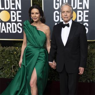 Michael Douglas 'growing' love for Catherine Zeta-Jones