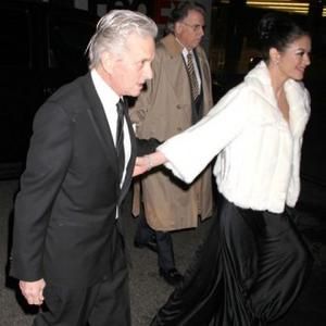 Michael Douglas Says Catherine Was 'Outed'