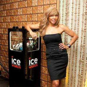 Cathy Guetta Launches Ice-watch Collection