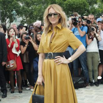 Celine Dion always has late husband beside her