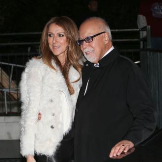 Celine Dion Feeds Her Husband