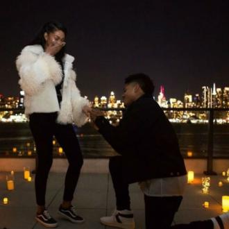 Chanel Iman is engaged