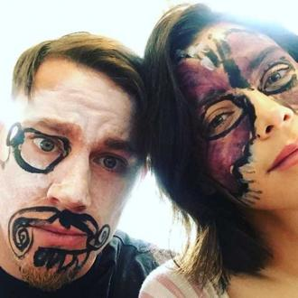 Channing and Jenna Dewan-Tatum allow daughter to paint their faces