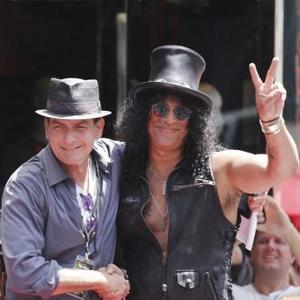 Slash Receives Star On Hollywood Walk Of Fame