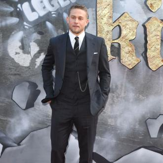 Charlie Hunnam falls in love every time he sees his partner