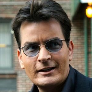 Charlie Sheen Whips Crowd Into Chant Against Ex