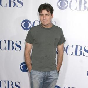 Charlie Sheen Enjoys Time With Daughters