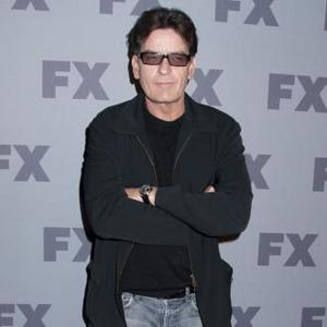Charlie Sheen Happy At Work