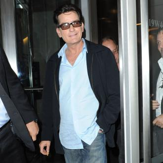 Charlie Sheen Staged Car Crash