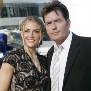 Charlie Sheen Holidays With Brooke