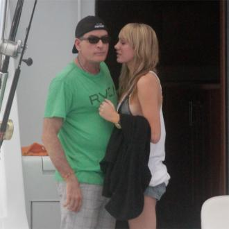 Charlie Sheen Splits From Fiancee Scottine Ross
