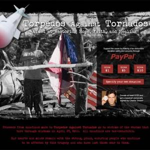 Charlie Sheen Creates Website For Tornado Victims