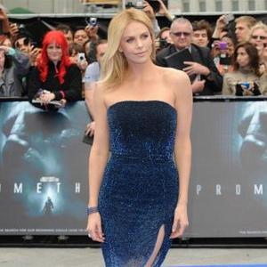 Charlize Theron Loves Thatcher Comparison