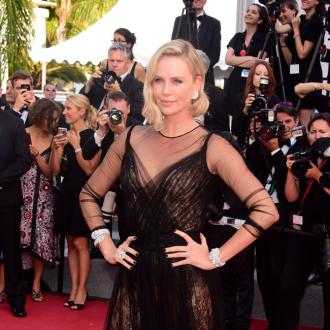 Charlize Theron's crispy bathroom treats