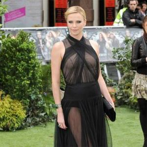 Charlize Theron Has Red Carpet Nerves