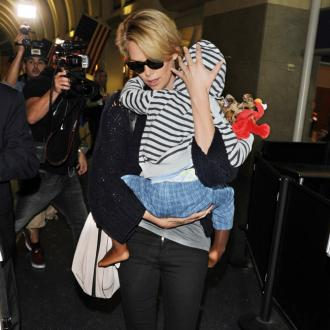 Charlize Theron's Son Recognises Her On Billboards