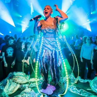 Charlotte Church thrills at sci-fi show