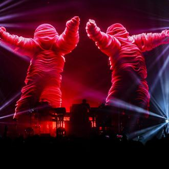 Chemical Brothers love Glastonbury