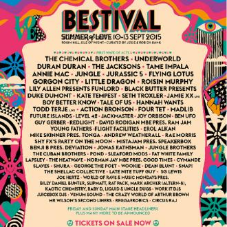 Chemical Brothers And The Jacksons Confirmed For Bestival