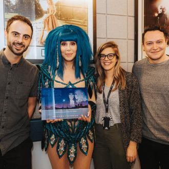 Cher receives award for playing The O2 for the first time