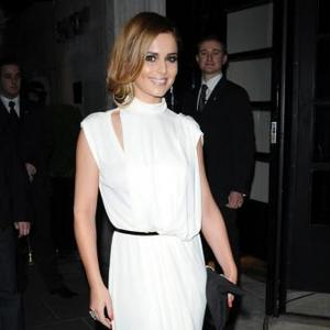 Cheryl Cole Goes Out In Pyjamas