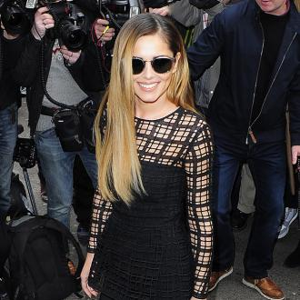 Cheryl Cole Takes French Lessons