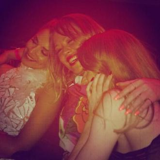 Cheryl Cole Celebrates Birthday With Girls Aloud In Las Vegas