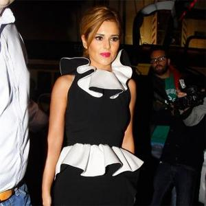 Cheryl Cole Leaves Interview After Prank