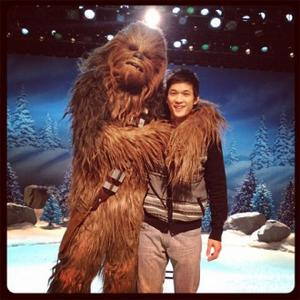 Chewbacca To Star In Glee Festive Special