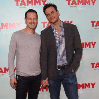 Cheyenne Jackson marries boyfriend