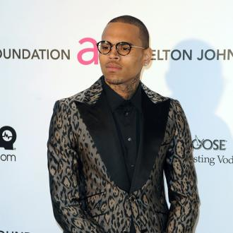 Chris Brown's Flirty Night Out