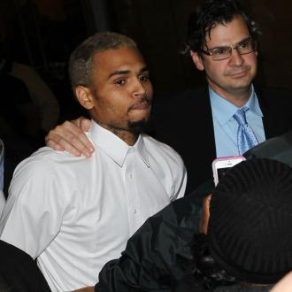 Chris Brown Leaving Rehab For Charity Toy Drive