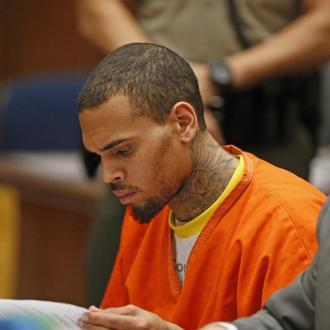 Chris Brown In Us Marshal Custody