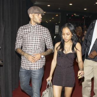 Chris Brown Spotted With Ex