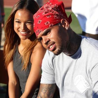 Karrueche Tran Living With Chris Brown