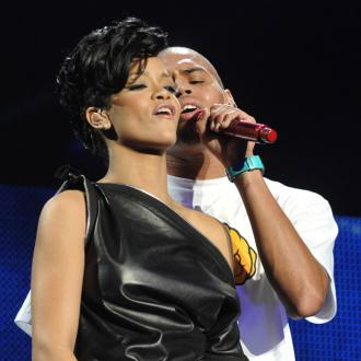Chris Brown Happier Than Ever With Rihanna