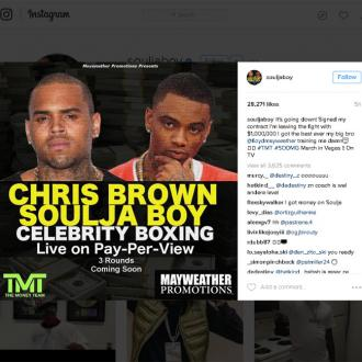 Mike Tyson to train Chris Brown for Soulja Boy boxing match