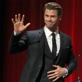 Chris Hemsworth singed his eyebrows during filming