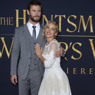 Chris Hemsworth Takes Wife's Beauty Creams