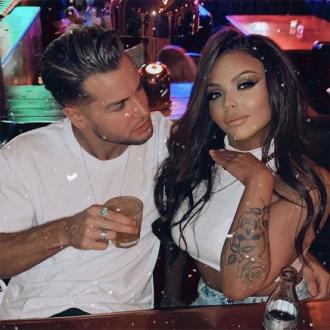 Jesy Nelson celebrates one year anniversary with Chris Hughes